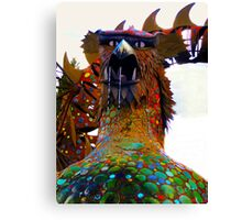 Hungry Dragon Canvas Print