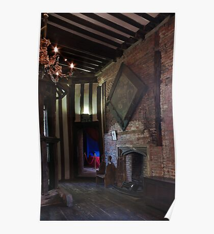 Gainsborough Old Hall-  Upstairs room(2) Poster