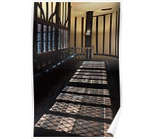 Gainsborough Old Hall- Windows, shadows&stairs Poster