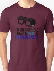 PH D in Horribleness A T-Shirt
