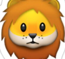 Lion Emoji Sticker