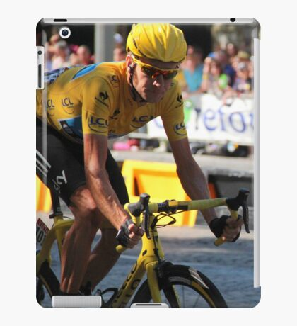 Bradley Wiggins - Tour de France iPad Case/Skin