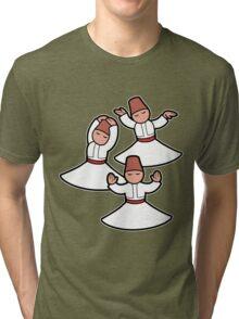 Dervish trio Tri-blend T-Shirt