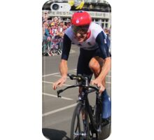 Bradley Wiggins - Olympic Time Trial iPhone Case/Skin