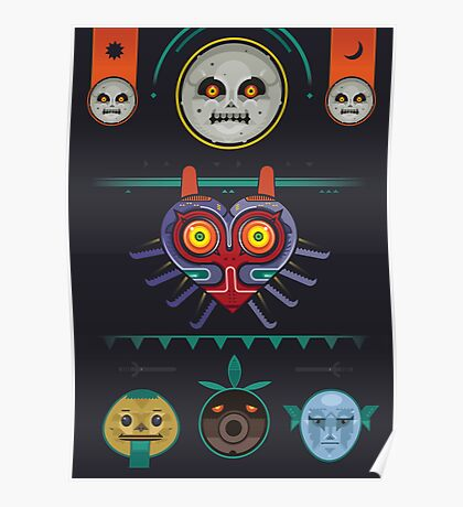 The Haunting Majora's Mask Poster