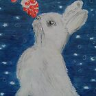 christmas bunny by Gez Sullivan