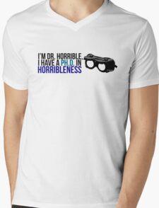 PhD in Horribleness B Mens V-Neck T-Shirt