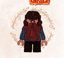 Gimli-Lego Lord of the Rings by ChrisNeal