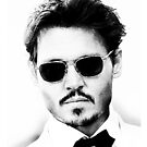 Johnny Depp by rapidapple