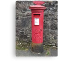 Old mailbox Canvas Print