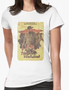 Django Unchained - Poster Womens Fitted T-Shirt