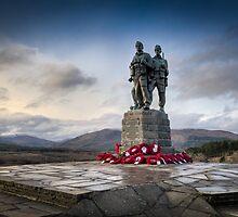 Commando Memorial at Spean Bridge by Gary Eason + Flight Artworks