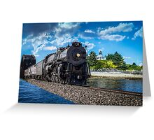 Santa Fe 3751 Greeting Card