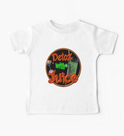 Detox with Juice by Valxart Baby Tee
