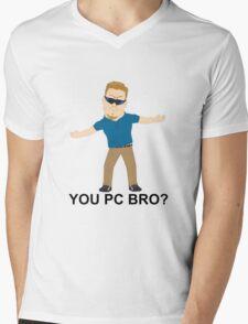 PC Principal (South Park) Mens V-Neck T-Shirt