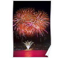 Orange Blossom Bursts | New Years Eve | Sydney Harbour Poster