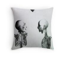 I have a boner Throw Pillow