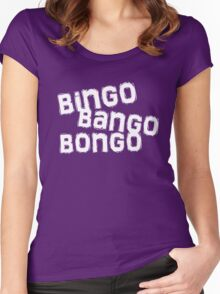 bingo bango bongo Women's Fitted Scoop T-Shirt