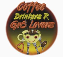 Coffee Drinkers are great lovers  Valxart.com by Valxart