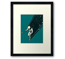 Cosmic Selfie Framed Print
