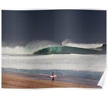 Pipeline Surfer 11 Poster