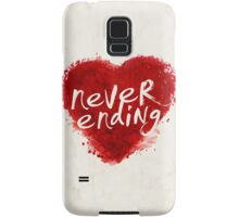 never ending love Samsung Galaxy Case/Skin