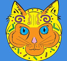Aztec Cat by jexster