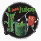 I Love Juice w/ celerybot by Valxart    by Valxart
