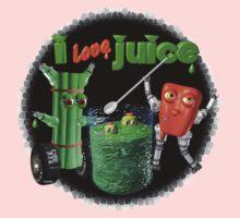 I Love Juice w/ celerybot by Valxart    Baby Tee