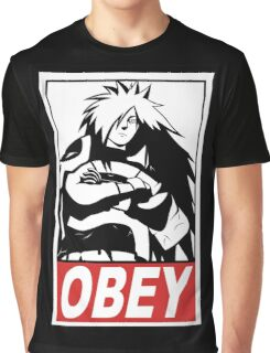 OBEY Madara Uchiha  Graphic T-Shirt