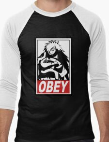 OBEY Madara Uchiha  Men's Baseball ¾ T-Shirt