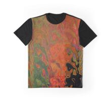 Color Abstract Graphic T-Shirt