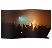 Bonfire Night in Battle 2011 - Pheasant Hats Poster