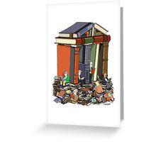 Bibliophiles Greeting Card