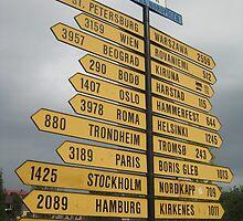 2407 Kilometres to the North Pole. by ellismorleyphto