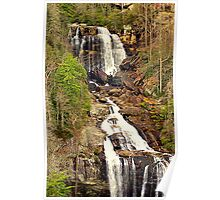 Cascading Beauty at Whitewater Falls NC., Poster