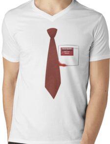 You've got red on you. Mens V-Neck T-Shirt