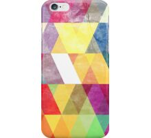 Abstract Slanted Triangles iPhone Case/Skin