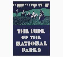 Vintage poster - National parks Kids Clothes