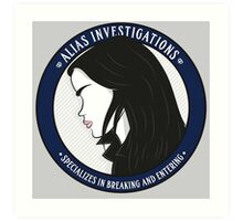 Jones' Alias Investigations Art Print