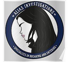 Jones' Alias Investigations Poster