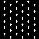 Crosses (Black) by laurenschroer