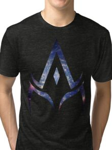 alpha is your master. Tri-blend T-Shirt