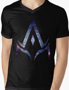 alpha is your master. Mens V-Neck T-Shirt