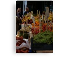 Rialto Fruit + Veg Market 2 Canvas Print