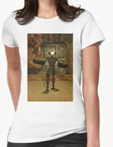 Patrol Bot 2050 Womens Fitted T-Shirt