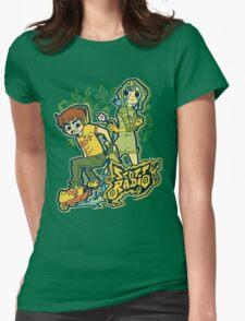 Scott Radio!! Womens Fitted T-Shirt