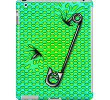 Sookie Skull Safety Pin Green  iPad Case/Skin
