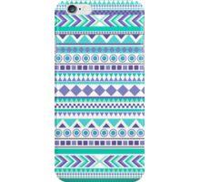 Green and Purple Aztec Design iPhone Case/Skin