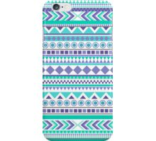 Green and Purple Aztec Design iPhone Case/Skin